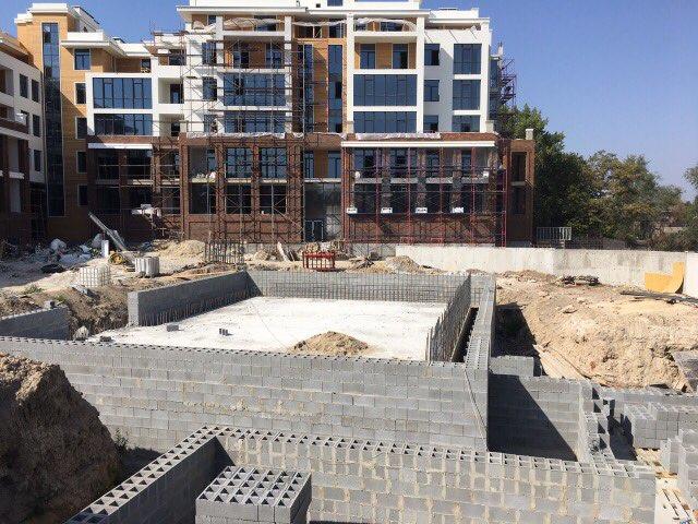 Заканчиваем общие строительные работы по бассейну