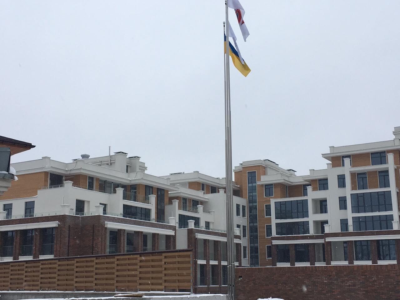 """Настоящая зима  в """"Comfort City"""""""