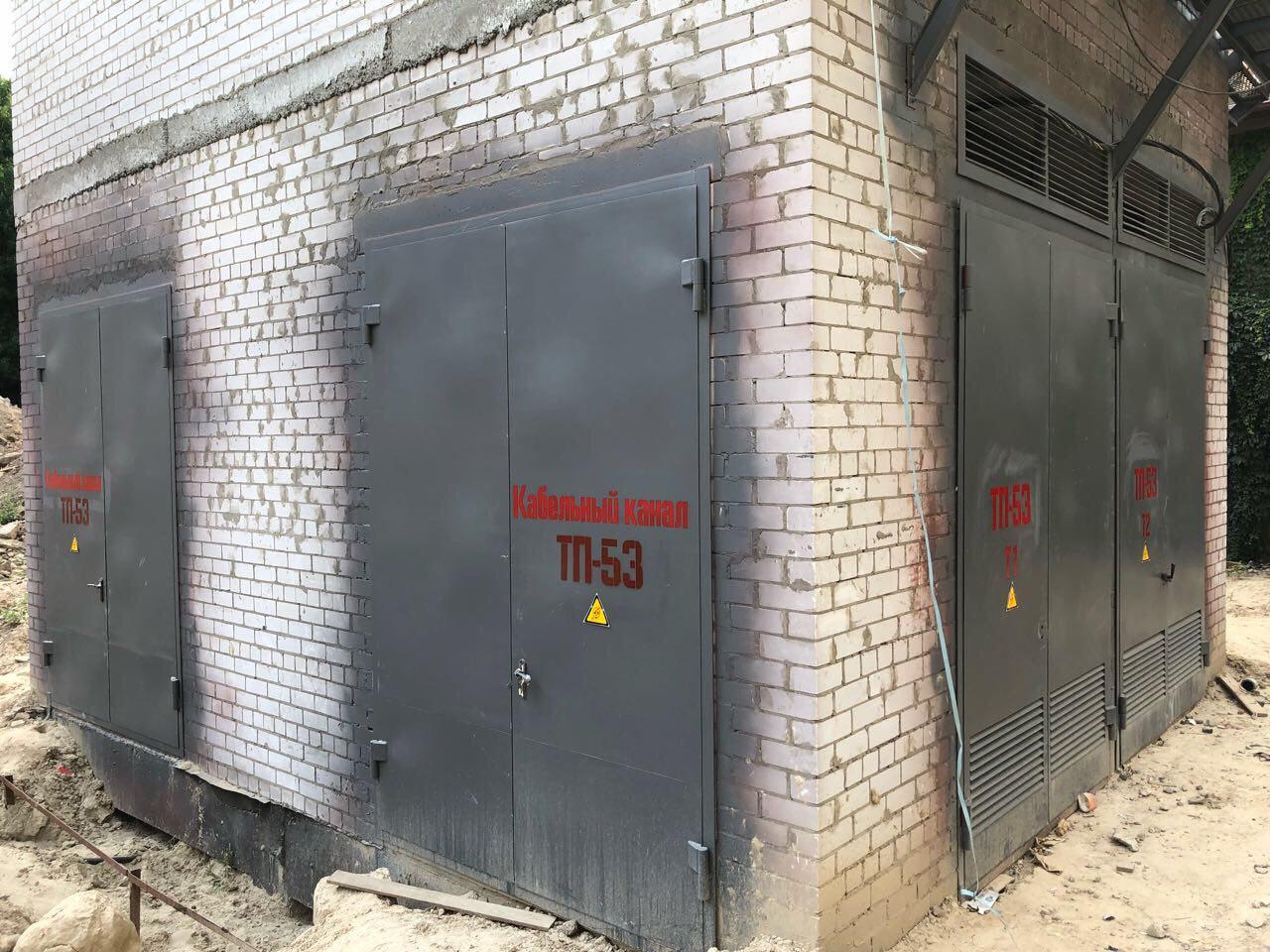 Новое современное ТП/РП введено в эксплуатацию, присвоен номер, секции подключены к новым трансформаторам